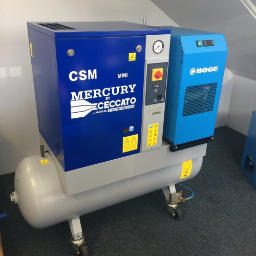 Used Ceccato CSM Mini Screw Compressor