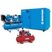 Boge and Airmac air compressor combo image